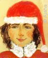 Santa by Ajana